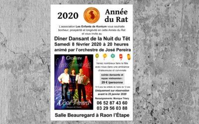 Invitation à la Fête du Têt 2020