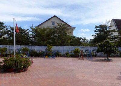 Cour de récréation créée en 2013