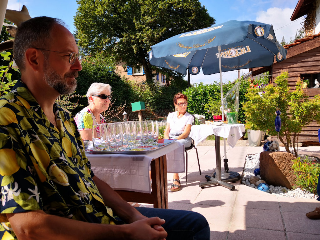 Thierry, Karina et Christiane