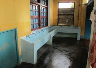 Lavabos installés aux toilettes en 2010