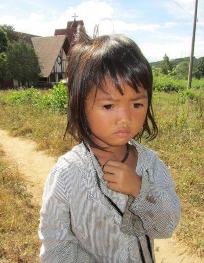 Jeune fille montagnarde