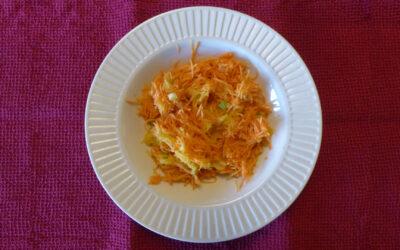 Salade vitaminée mangue et carotte