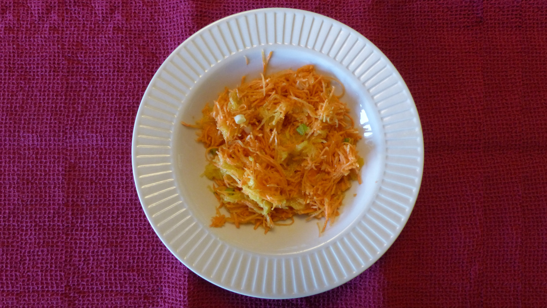 La recette de soupe d'asperges au crabe